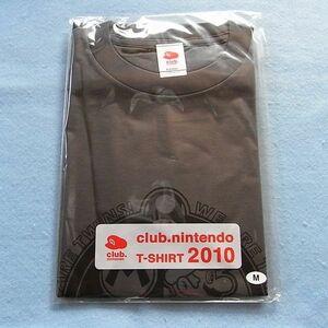 ▼▼▼ クラブニンテンドー ティーシャツ T シャツ 2010 チャコール club.nintendo T-SHIRT 18 M ▼▼▼