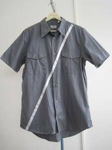 初期 イタリア製 ヘルムートラング ジーンズ JEANS ライン入り半袖シャツ 46 / 1998年