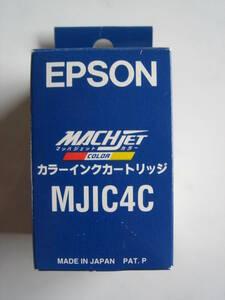 純正 EPSON エプソン MJIC4C 未開封 カラーインクカートリッジ マッハジェットカラー COLOR 適合プリンター MJ-500C MJ-800C 期限切れ