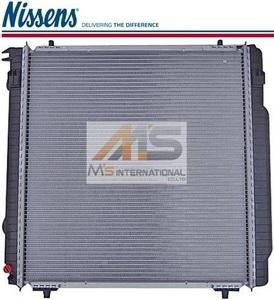 【M's】W463 Gクラス(ゲレンデ)Nissens製 ラジエーター///ベンツ AMG 優良社外品 ラジエター 300GE G320 G500 G36 G55 463-500-1200