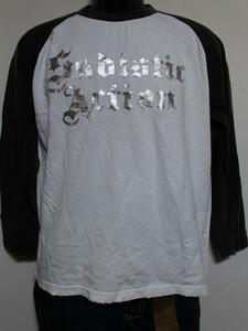 サディスティックアクション SADISTIC ACTION メンズ長袖ラグランTシャツ Mサイズ NO20 新品