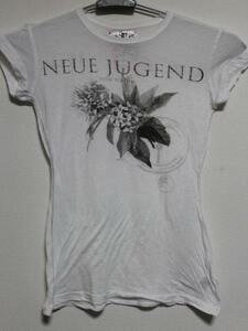 モーフィンジェネレーション Morphine Generation レディース半袖Tシャツ ホワイト Sサイズ 新品