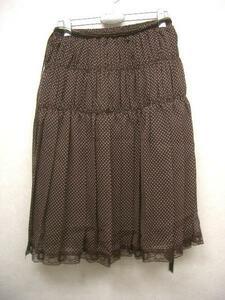 パシフィックコースト PACIFIC COAST レディーススカート ブラウン Mサイズ 新品