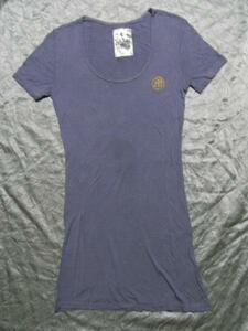 モーフィンジェネレーション Morphine Generation レディース半袖チュニックTシャツ Mサイズ 新品