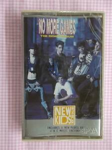 ニューキッズオンザブロック NEW KIDS ON THE BLOCK NOMOREGAMES 輸入カセット 新品  STEP BY STEP HANGIN'TOUGH 他収録の商品画像