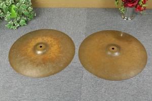 セイビアン ハイハットシンバル 14/36 HIHATS SABIAN 重さ1.0kgと1.2kg 楽器