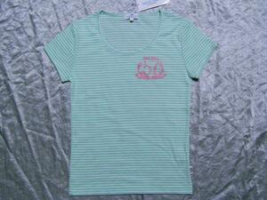 パシフィックコースト PACIFIC COAST レディース半袖Tシャツ ライム Mサイズ 新品