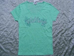 パシフィックコースト PACIFIC COAST レディス半袖Tシャツ ライム Mサイズ 新品