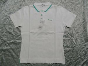 パシフィックコースト PACIFIC COAST レディース半袖ポロシャツ ホワイト Mサイズ 新品