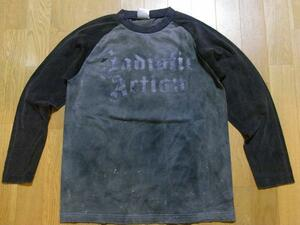 サディスティックアクション SADISTIC ACTION メンズ長袖Tシャツ Lサイズ NO4 新品