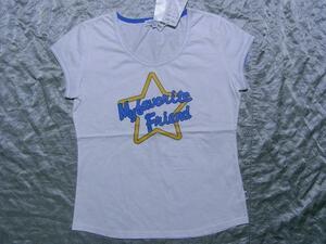 パシフィックコースト PACIFIC COAST レディース半袖Tシャツ ホワイト Lサイズ 新品