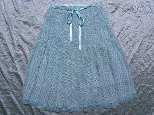 パシフィックコースト PACIFIC COAST レディーススカート ブルー Mサイズ 新品