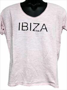 エドハーディー ED HARDY メンズ半袖Tシャツ ピンク Mサイズ SP052 新品