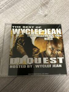 Best of WYCLEF JEAN ワイクリフ ジーン DJ QUEST