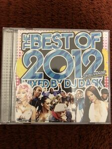 THE Best of 2012 2ND HALF 2枚組 DJ DASK ダスク
