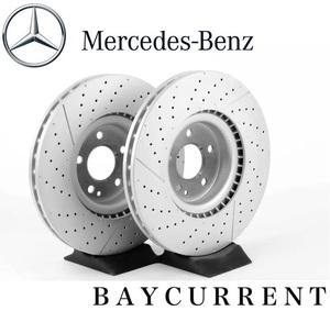 【正規BREMBO製】 メルセデスベンツ フロント ブレーキローター 左右 Aクラス W176 A45 AMG ブレーキ ディスク 2枚 1764210212 ローター