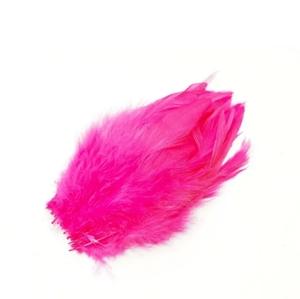 フライマテリアル スペイコック(30本)ホット・ピンク/羽根 羽毛 材料 釣り 毛針 毛鉤 タイイング パーツ フェザー