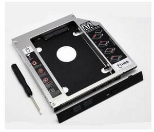 国内発送Lenovo Thinkpad X200 X201 X200S X201S ウルトラベース・スリム・デバイス 用 セカンドHDDアダプターSSDマウンタ SATA接続 9.5mm