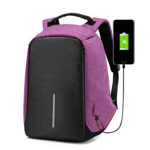 リュック 充電対応 バックパック メンズ ビジネス 大容量 耐衝撃 盗難防止 多機能リュックサック USBポート搭載 男女兼用 出張 旅行7849PU