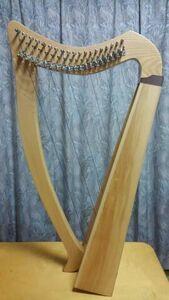 アイリッシュハープ 19弦 新品