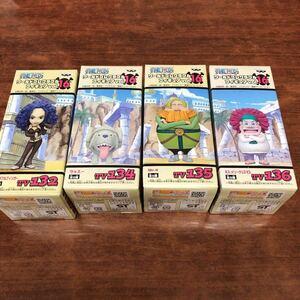 ONE PIECE ワールドコレクタブルフィギュア vol.16 ミス・ダブルフィンガー ラッスー Mr.4 ミス・メリークリスマス 4個セット 未開封 t0016