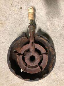 ○D5211 業務用 都市ガス 2重 鋳物コンロ ○