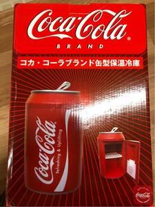 Coca Cola Brand Mini hot refrigerator RARE!