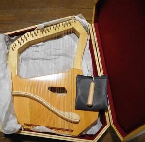 コロイ ソプラノ ライアー 35弦 楽器 竪琴リラ 木製ケース・調弦器付