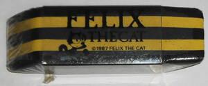 送料無料 新品 フェリックスザキャット 消しゴム 透明ケース入 ストライプ FELIX THE CAT