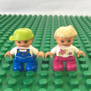 レゴ LEGO◆デュプロ 男の子 女の子 こども 子供 ミニフィグ フィギュア