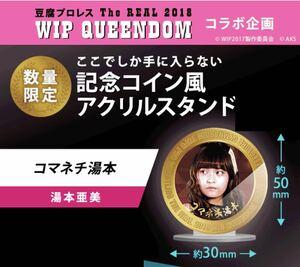 湯本亜美 新品 限定 非売品 アクリルスタンド AKB48 SKE48 NMB48 HKT48 NGT48 STU48 WIP 豆腐プロレス グッズ レア 神の手 コラボ