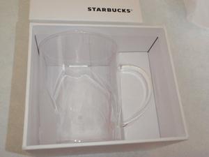 送料無料◆ スターバックス マグカップ さくら ペタルグラス