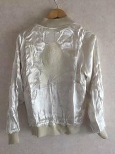 [BEAUTY & YOUTH UNITED ARROWS] 白虎刺繍 リバーシブル レーヨンスカジャン S ユナイテッドアローズ