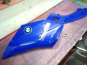 BMW R1100RS 純正アッパーカウル フロントカウル サイドカバー ブルー 青 左側 ガリ傷なし 中古美品! 補修や中古車仕上げに!