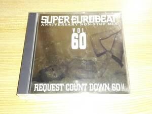 2CD「SUPER EUROBEAT VOL.60」スーパーユーロビートVOL.60