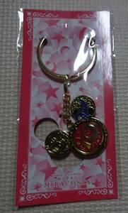 非売品 ディズニーシー ミラコスタ 10周年記念 ピンク ハートオブロマンス ワインメダル ワインマーカー ディズニーホテル キーホルダー