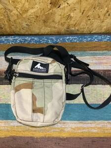 USA製 美品 グレゴリー クイックポケットM デザートカモ 迷彩 ショルダーポーチ ポシェット