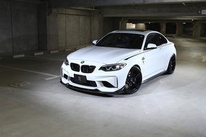3D Design 3Dデザイン BMW 2series 2シリーズ F87 M2 フロントリップスポイラーセット
