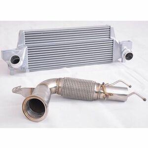 30PS上昇!ミニクーパーS 大容量インタークーラー触媒ストレートセット F54 F55 F56 F57 F60 ONE マフラー BMW ホイール インテーク