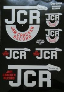 世田谷ベース オフィシャル JCRステッカー オリジナルステッカー デイトナ 新品 未使用品 非売品 所ジョージ ガレージ ステッカー