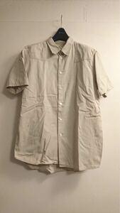 初期 1998 Helmut Lang jeans worker shirt millitaly ミリタリーパッチ 半袖 シャツ