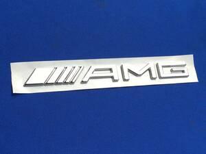 社外エンブレム【AMG】リア/トランク BENZベンツW639V350/3.2/ビアノ/VIANO/Vクラス/後期/アンビエンテ/ロング/トレンド/フェイスリフト