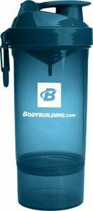 【正規品】 ボディビルディング ドット コム smartshake社製シェーカーボトル オリジナル 2 Go ONE 800ml ブルー ★ BCAA プロテイン