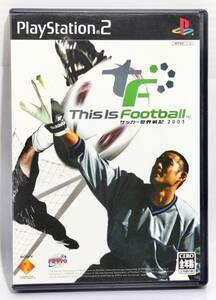 良品☆ This Is Football サッカー世界戦記2003 PlayStation2ソニー・インタラクティブエンタテインメント 0347A1Z8C