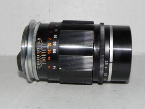 Canon 100mm/f3.5レンス゛(Lマウント)ジャンク品