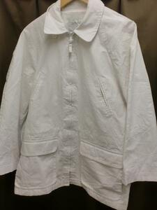 【SALE】LONDON FOGホワイトジャケット☆USAブランドシンプルS