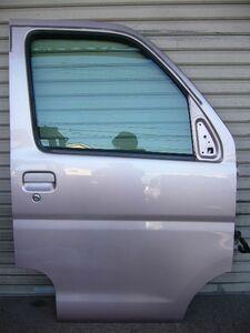 右 フロントドア アトレーW S321G カスタムターボ RS H20 ヒンジ付き T22 凹み無し
