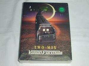 【VHS】TWO-MIX/VISION FORMUL CD付き 中古