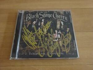 直筆サイン入りCD Black Stone Cherry Folklore and Superstition