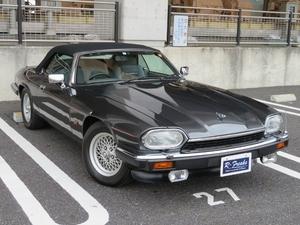 即決!ジャガー XJ-S 4.0 コンバーチブル ディーラー車 純正アルミ パワーシート ETC 記録簿